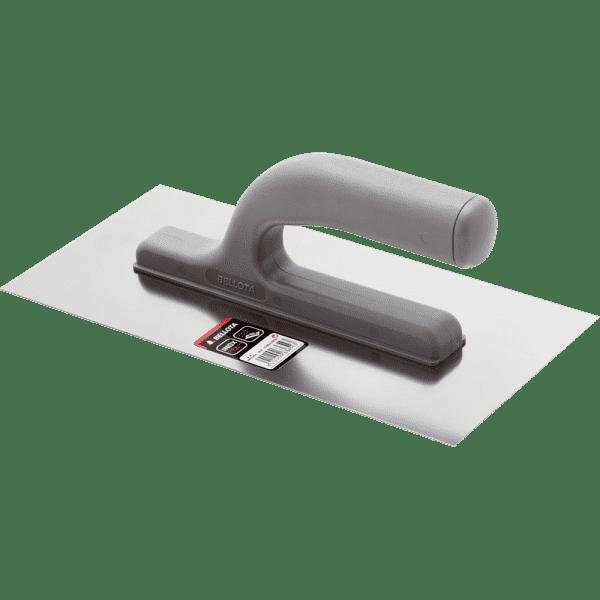 Glättkelle-Traufel Edelstahl INOX 270 x 130 x 90 mm