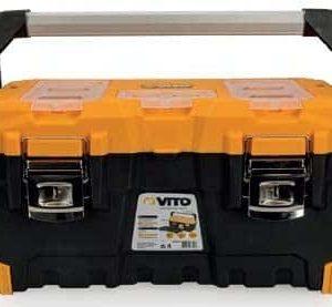 VITO Professional SET 20V 2x 2.0Ah Akku  (PowerPack4)   Stichsäge, Schrauber, Kreissäge, Bohrhammer, Winkelschleifer