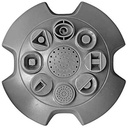 VITO Garden - 360° 8 Sprüh-Funktionen Rasensprenger, Kreis-Rasensprinkler