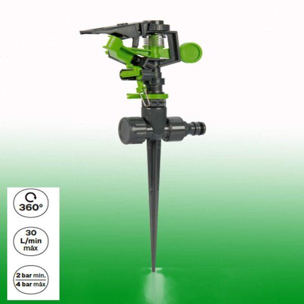 360 Grad Rasensprenger Rasensprinkler Kreisregner Stufenlos einstellbar