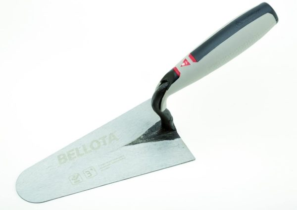 5919-18CC  Belgischeverputzkelle  geschmiedet SOFT-TOUCH Blatt 180 mm