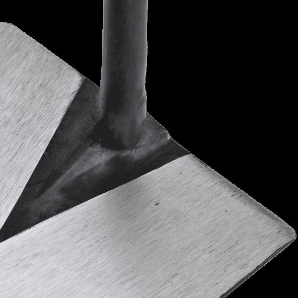 5921  Maurerkelle geschmiedet konisch geschliffenes Blatt 180 mm