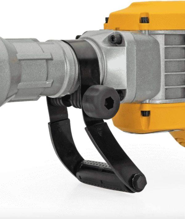 VITO Professional 50J 15 KG AVS Schwingungsgedämpfter Hauptgriff, Abbruchhammer SET VIMD1700 SDS-Hex Schlaghammer | 1700W 50 Joule - 360º Drehbarer Griff Halterung