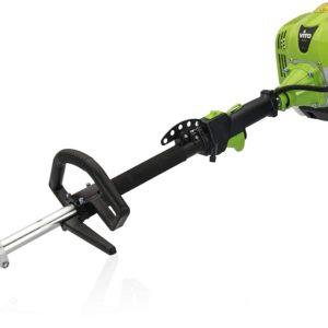 SET Professional 4 in 1 Motorsense, Rasentrimmer, Heckenschere, Hochentaster | Benzin Multitool mit 2 Taktmotor und 33 cm³, 1,2 kW (1,7 PS), 13 kg