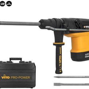 VITO Professional Bohrhammer/Meisselhammer 10 Joule 1200 Watt SDS-Max 2950 cps/min AVS Anti-Vibrations-System