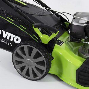 Benzin Rasenmäher mit Radantrieb - Easy-Start - 4in1, 4 Takt Benzin, 4,2 kW 53cm Schnittbreite
