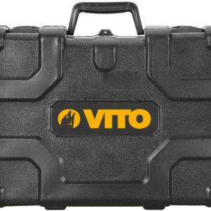VITO Professional Kombihammer SET VIMP850 SDS-Plus Bohrhammer 4 Funktionen: Hämmern, Meißeln, Bohren, Schlagbohren   Meisselhammer 850W 2,75J