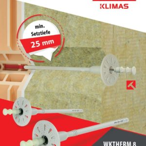 WKTHERM Schlagdübel mit Stahlnagel 95mm