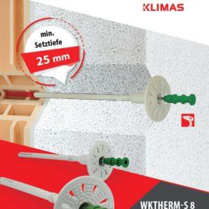 WKTHERM Schraubdübel mit Stahlschrauben 95mm
