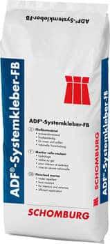 Schomburg ADF-Systemkleber-FB Hydrophober Fließbett-Klebemörtel  schnell erhärtend