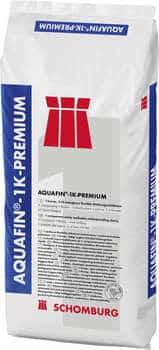 Schomburg  AQUAFIN-1K-PREMIUM  1-komp. früh belegbare flexible Dichtungsschlämme