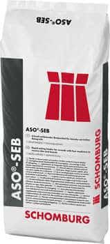 Schomburg ASO-SEB  Schnell erhärtendes Bindemittel für Estriche mit früher Belegreife