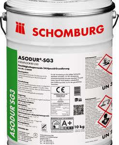 Schomburg ASODUR-SG3  Feuchtigkeitssperrende Epoxidharz-Grundierung
