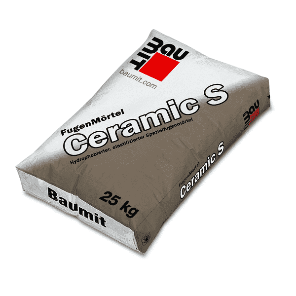 Baumit FugenMörtel Ceramic S für WDV-System KeramikFassade