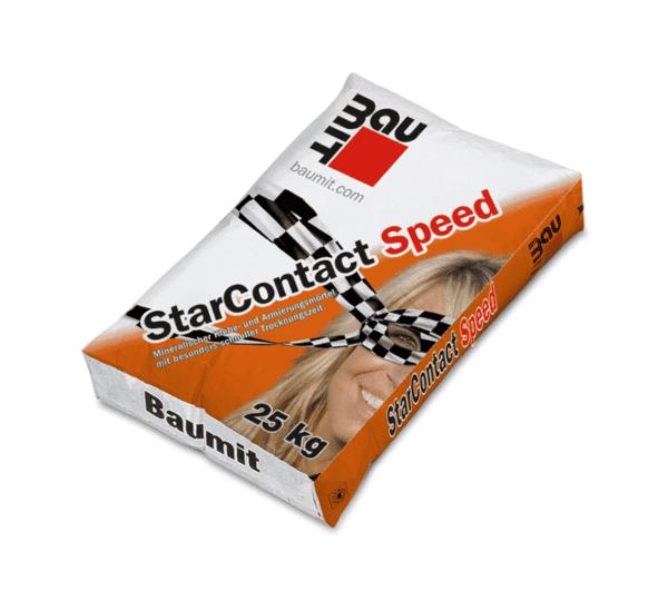 Baumit StarContact Speed Schnellabbindender Klebe- und Armierungsmörtel Grau