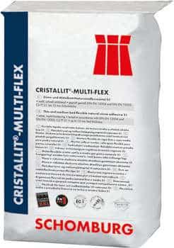 Schomburg CRISTALLIT-MULTI-FLEX Flexibler Dünn- und Mittelbett- Natursteinmörtel S1