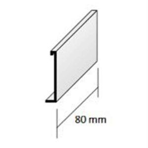 DURABAL BS Verbinder Alu grau 55,0mm