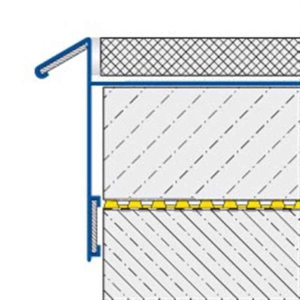 DURABAL BK Balkonwinkel Alu silber elox. 3,00m/9,0mm
