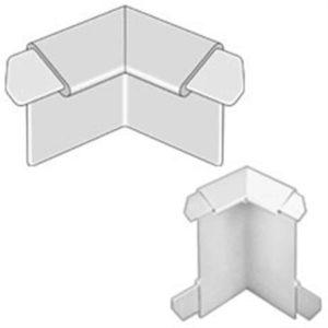 DURABAL BK innenecke Aluminum silber elox.