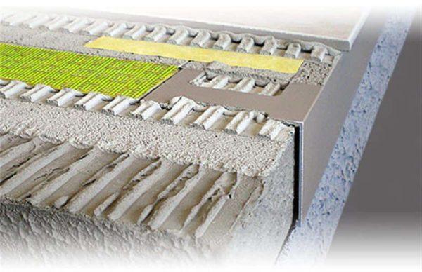 DURABAL BW Balkonwinkel Alu grau beschichtet 3,00m/55,0mm