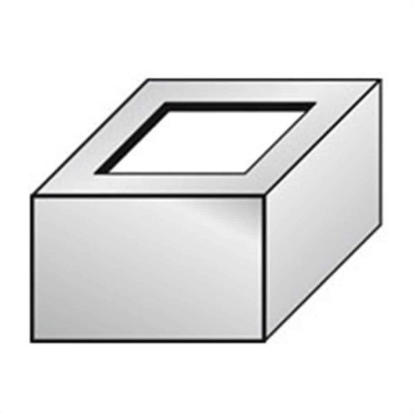 DURABAL BW Eckstück Alu grau beschichtet 55,0mm