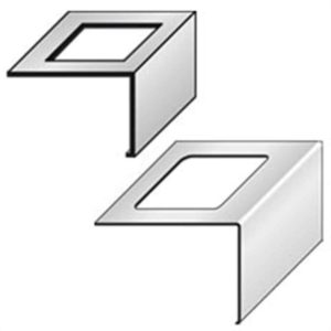DURABAL BW Verbinder Alu grau beschichtet 55,0mm
