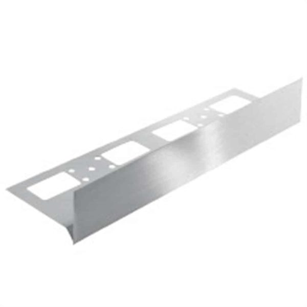 DURABAL ST Basisprofil Edelstahl Feinschliff 2,50m 30,0mm
