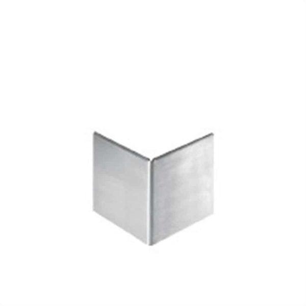 DURABAL ST Eckaufsteckprofil Edelstahl Feinschliff 30,0mm