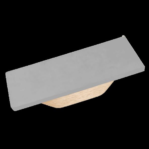 Fugbrett Harte Gummi 5898C PROFI Epoxidharz Holzgriff