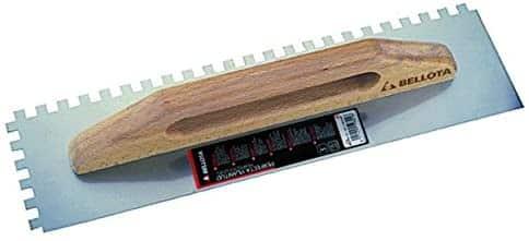 Glättekelle-Zahnkelle 10mm Mod.Cast 5875 INOX