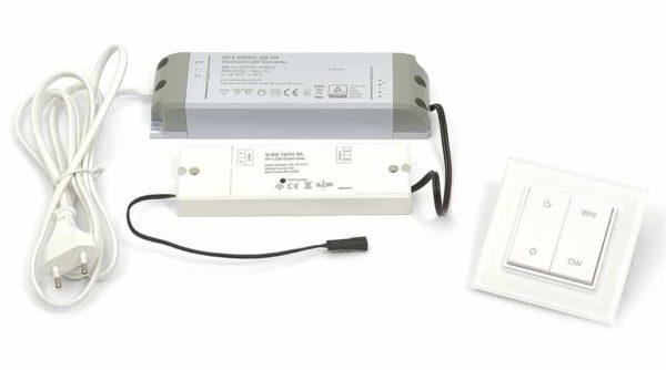 LED-Set Emotion W LED SET EW 750 CM ANSCHLUSSSET
