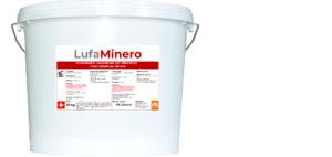 LufaMinero mineralischer Edelputz Innen VA 3mm weiss