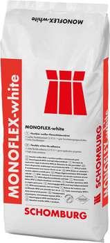 Schomburg MONOFLEX-white Weißer flexibler Fliesenklebemörtel