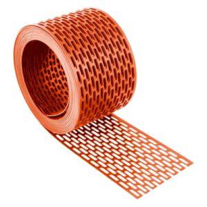Lüftungsband PVC Rot 80mm
