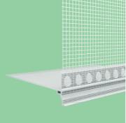WDVS PVC- Tropfkantenprofil 100 x 100mm