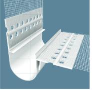WDVS Dehnfugenprofil V-Form 2.50 m