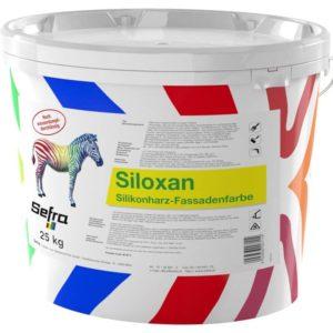 Siloxan Silikonharz Fassadenfarbe, weiß 25 kg Gebinde