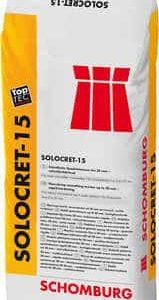 Schomburg  SOLOCRET-15  Standfeste Spachtelmasse bis 20 mm, schnell erhärtend
