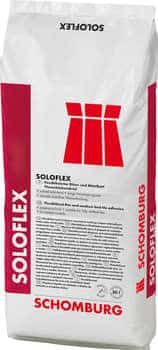 Schomburg SOLOFLEX Flexibilisierter Dünn- und Mittelbett Fliesenklebemörtel