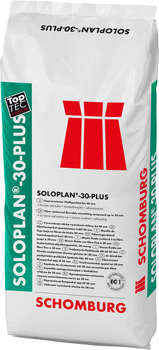 Schomburg SOLOPLAN-30-PLUS  Faserarmierter Fließspachtel