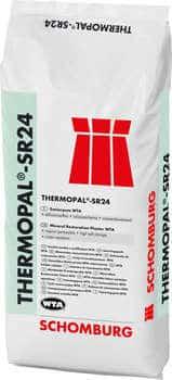 Schomburg THERMOPAL-SR24 Sanierputz-WTA mit hohem Luftporengehalt