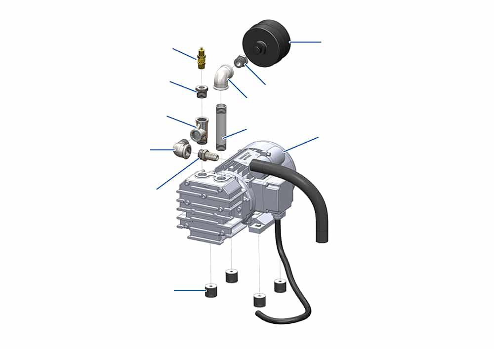 verputzmaschine mischpumpe mixpro 50 kompressoreinheit